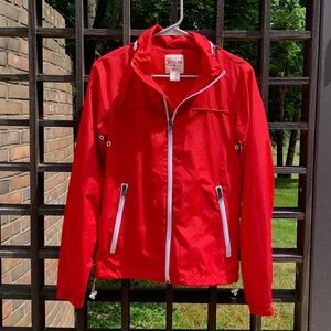 Mossimo Supply Co. Red Full Zip Jacket